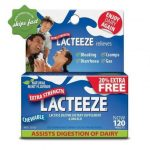 Lacteeze Lactose Intolerance Extra Strength Tablets 120s