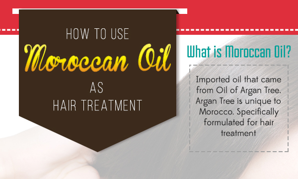 How to use Moroccan Oil as Hair Treatment?