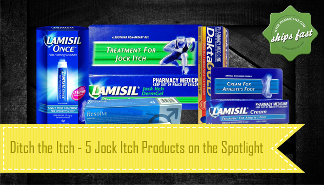 "5 Jock Itch Products to Ditch the Itch ""Down There"""