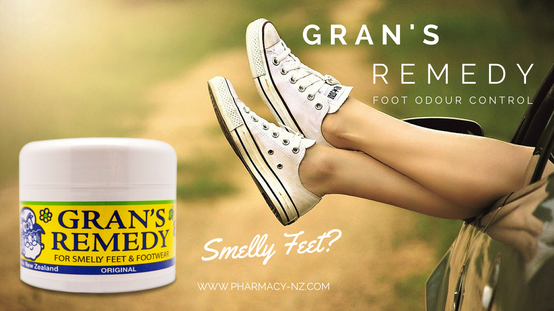 Grans Remedy Treatment for Smelly Feet