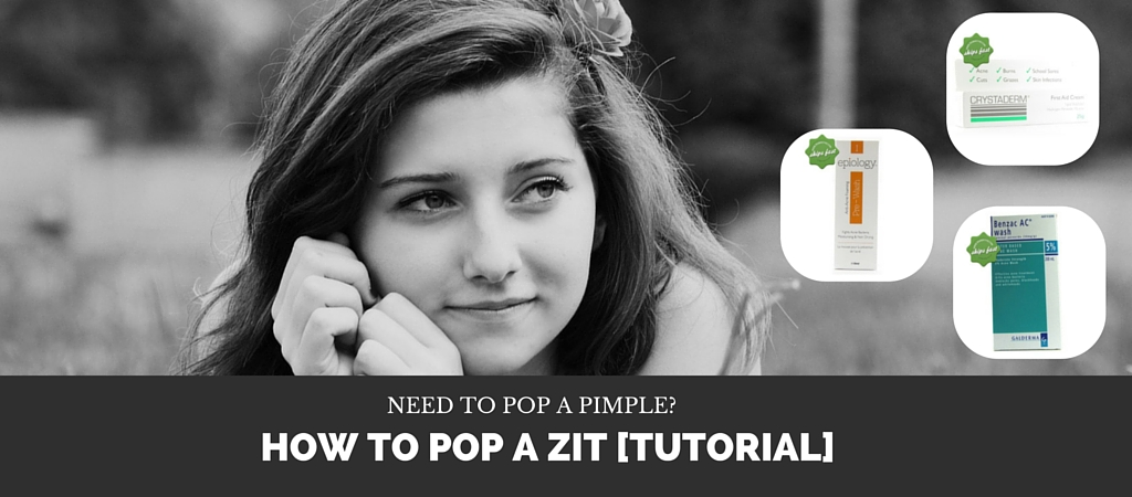 Need to Pop a Pimple? Here's a Tutorial on How to Pop a Zit Properly