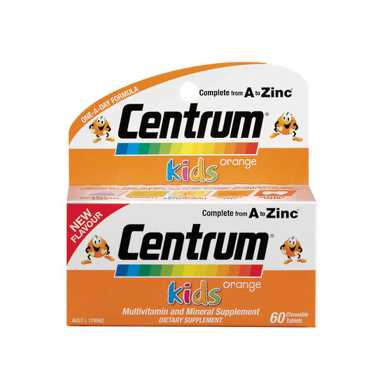 Centrum Kids Orange 60 Chew Tablet