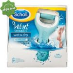 Scholl Velvet Smooth Wet and Dry Rechargeable Foot File