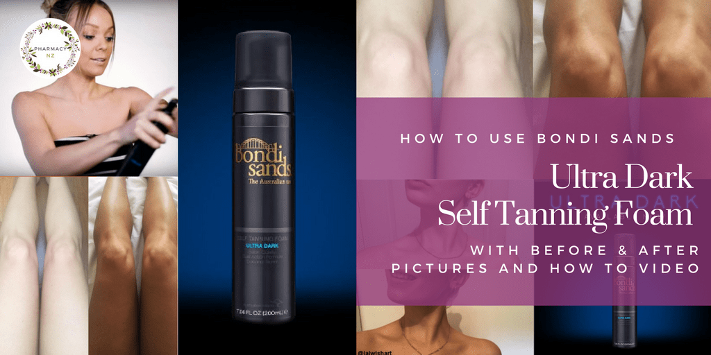 How to use Bondi Sands Ultra Dark Self Tanning Foam ( With Pictures)