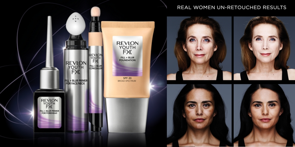 Revlon Youth FX Appear Instantly Younger in Seconds