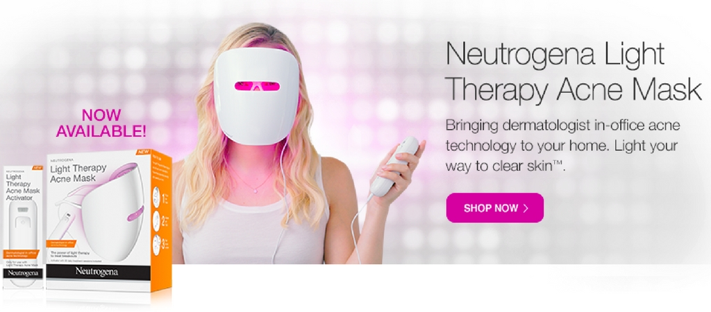 NEUTROGENA VISIBLE CLEAR LIGHT THERAPY ACNE MASK