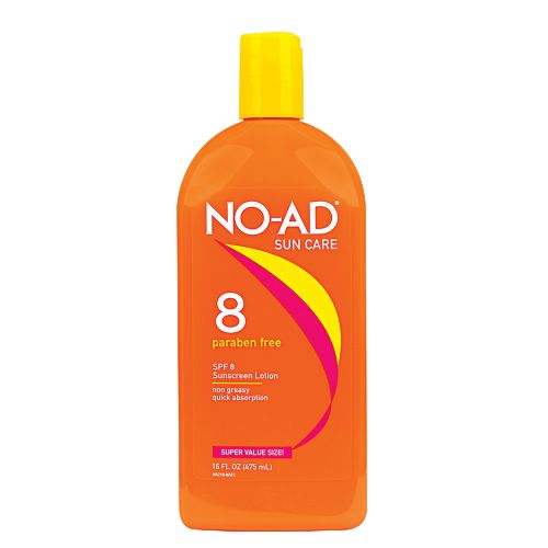 NO AD SPF 8 TANNING LOTION 475ml