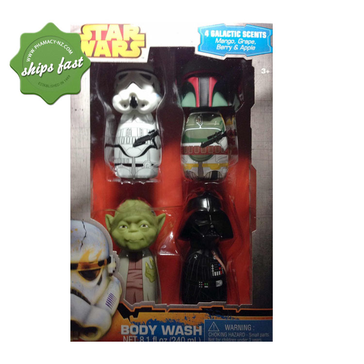 STARWARS BODY WASH ASSORTED