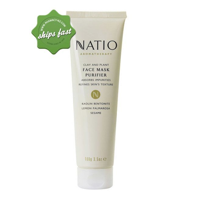 NATIO CLAY AND PLANT FACE MASK