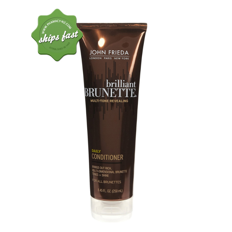 JOHN FRIEDA BRILLIANT BRUNETTE DAILY CONDITIONER (Special buy online only)