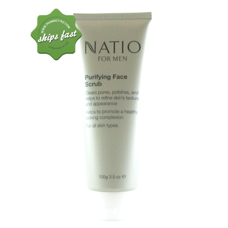 NATIO MEN PURIFYING FACE SCRUB (Special buy online only)