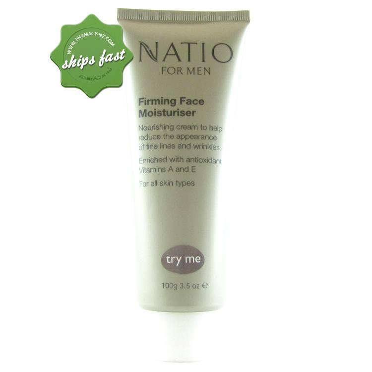NATIO MEN FIRMING FACE MOISTURISER (Special buy online only)