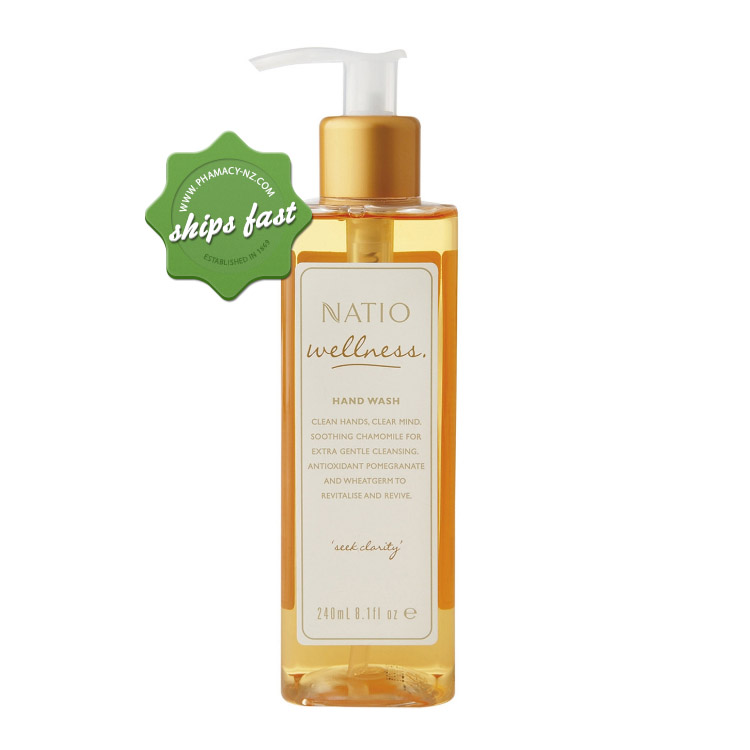 NATIO WELLNESS HAND WASH (Special buy online only)