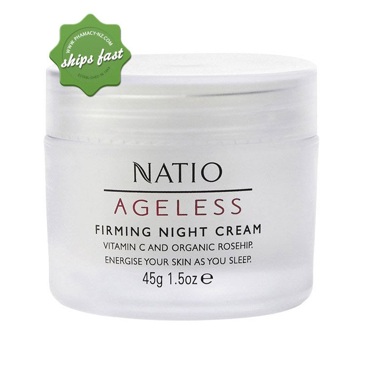 NATIO AGELESS NIGHT CREAM 45G (Special buy online only)