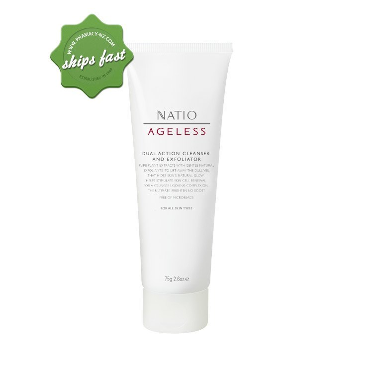 NATIO AGELESS DUAL CLEANSER EXFOLIATER (Special buy online only)