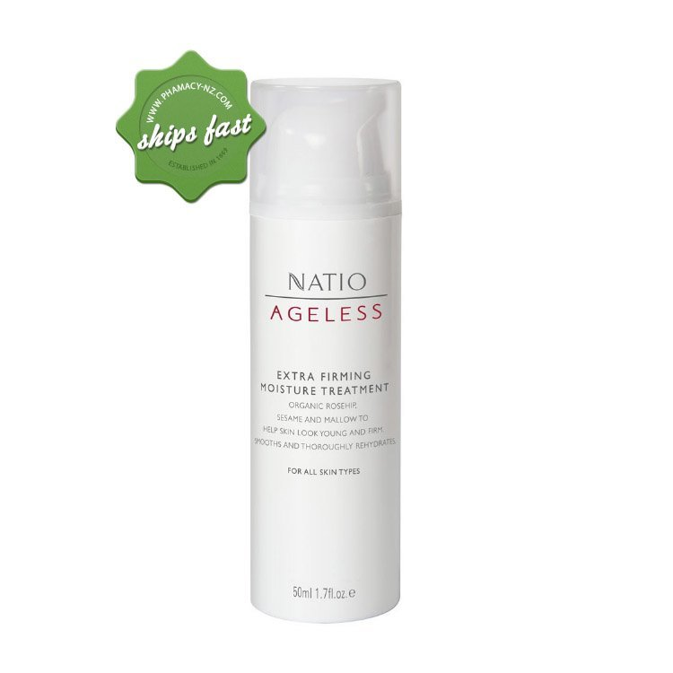 NATIO AGELESS EXTRA FIRMING MOISTURE TREATMENT 50ml (Special buy online only)