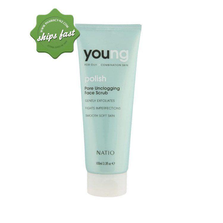 NATIO YOUNG PORE UNCLOG FACE SCRUB (Special buy online only)