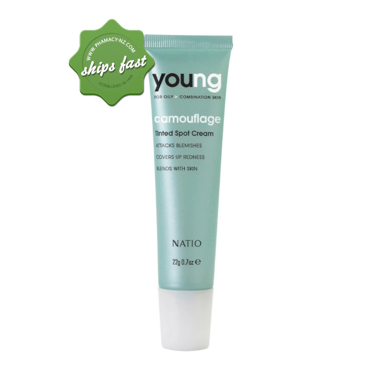 NATIO YOUNG TINTED SPOT CREAM 22G (Special buy online only)