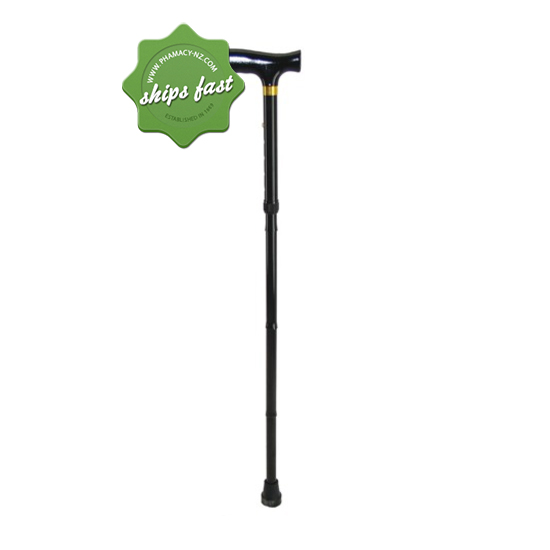 MOVERE FOLDING WALKING STICK BLACK