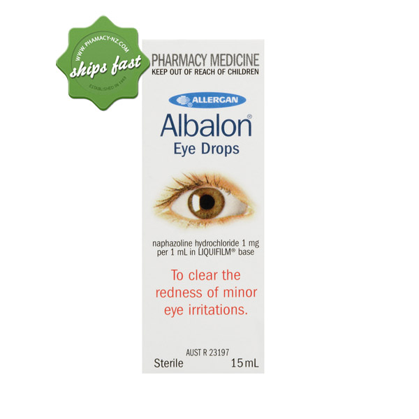 ALBALON EYE DROPS 15ML