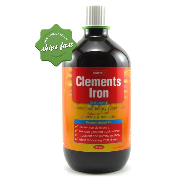 CLEMENTS TONIC WITH IRON 500ML