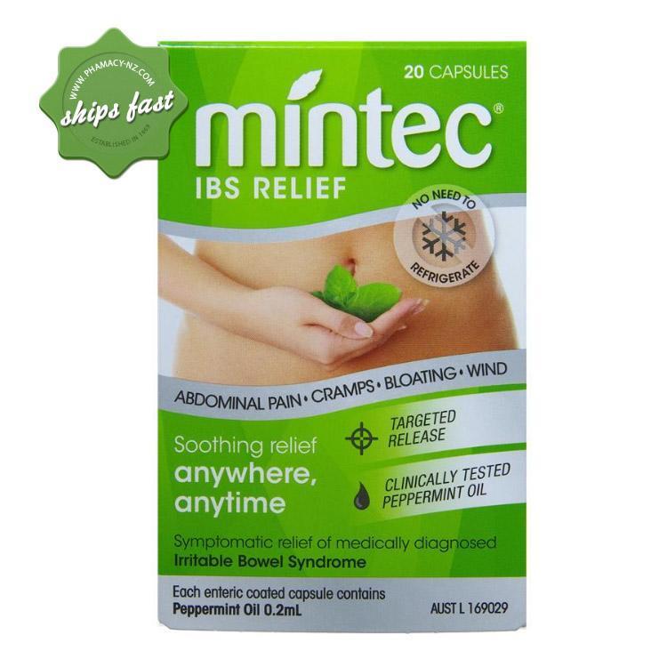 MINTEC CAPSULES 20