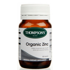 THOMPSONS ORGANIC ZINC 80s