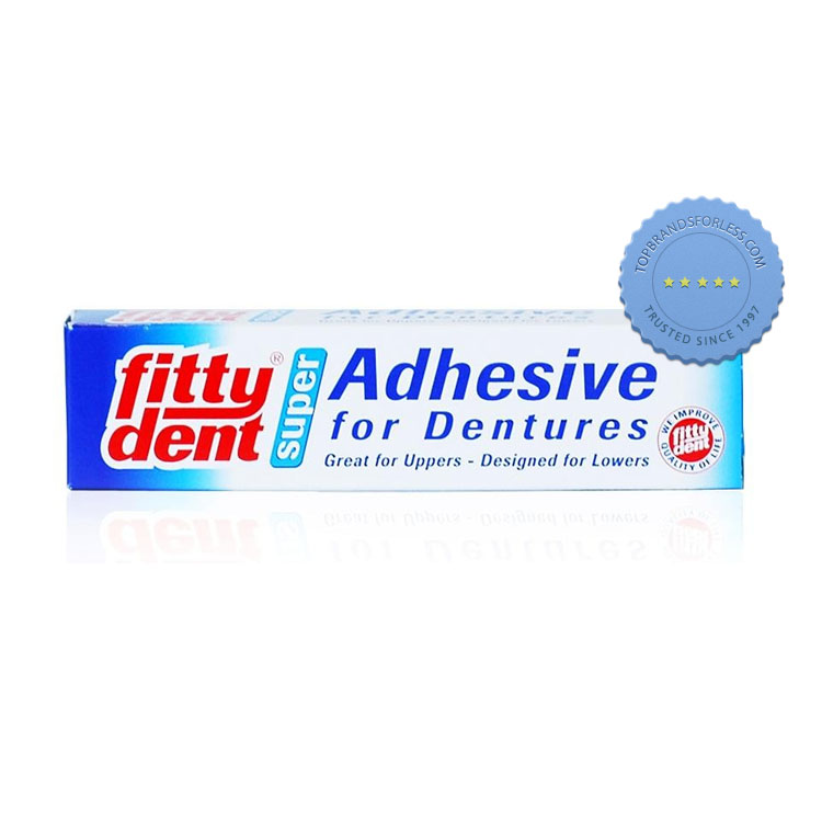 FITTYDENT SUPER DENTURE ADHESIVE 40G