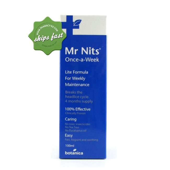 BOTANICA MR NITS ONCE A WEEK 100ML (Special buy online only)
