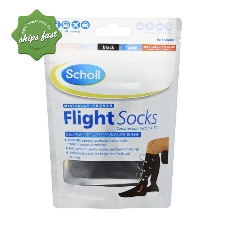 SCHOLL FLIGHT SOCKS SIZE 6-9