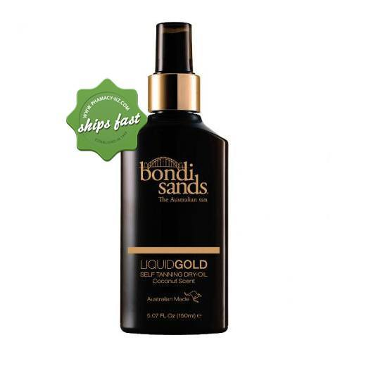 BONDI SANDS LIQUID GOLD SELF TANNING DRY OIL 150ML (Special buy online only)