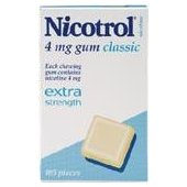 NICOTROL 4MG CLASSIC GUM 105