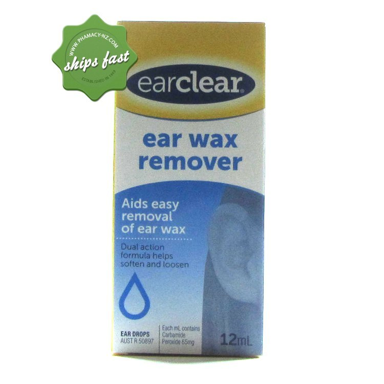 EAR CLEAR DROPS 12ML