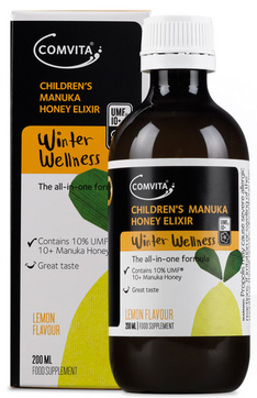 COMVITA CHILD MANUKA HONEY ELIXIR LEMON 200ML