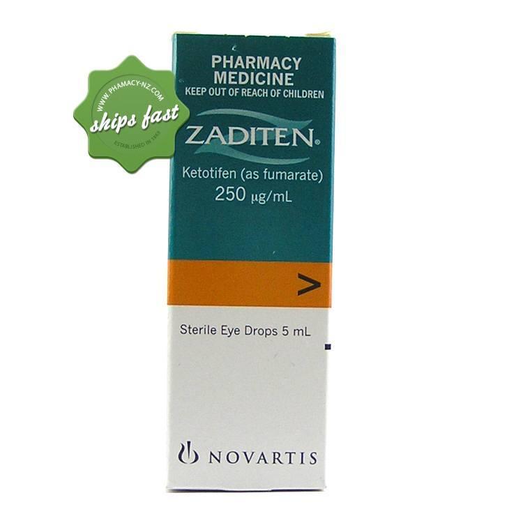 Allergy Eye Drops >> Buy zaditen eye drops Ships fast from Pharmacy NZ