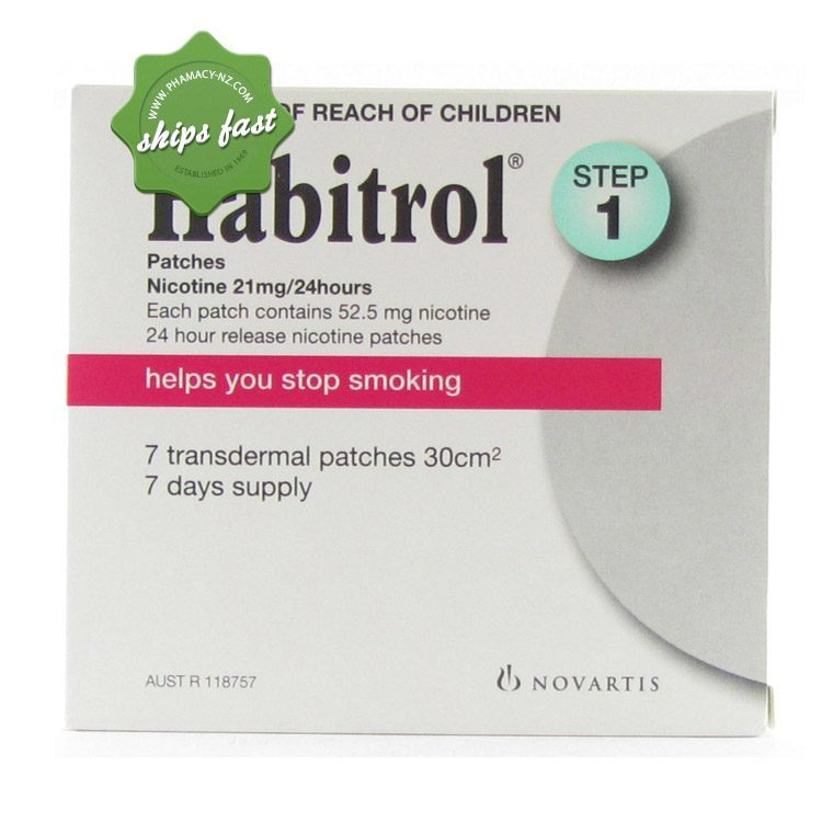 HABITROL PATCHES STEP 1 7s