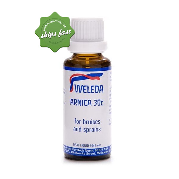 WELEDA ARNICA LIQUID 30C 30ML
