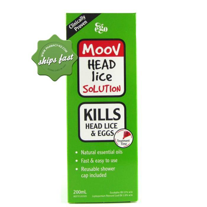 MOOV HEAD LICE SOLUTION 200ML (Special buy online only)