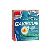 GAVISCON DOUBLE STRENGTH TABLETS 60