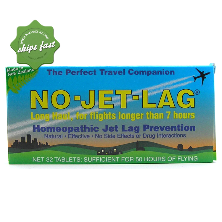 NO JET LAG TABLETS 32