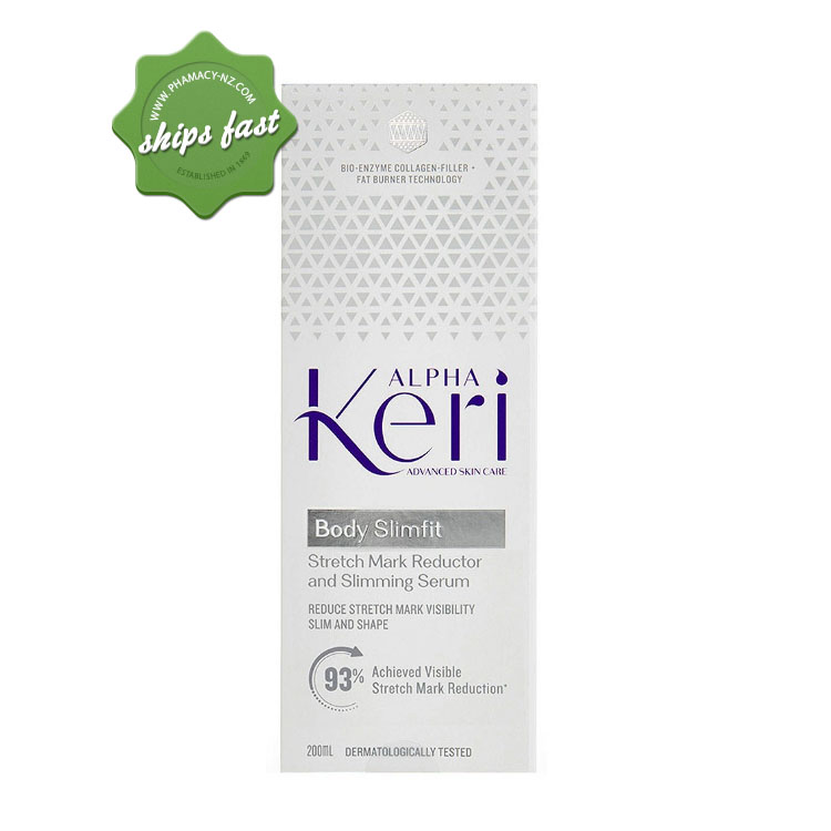 ALPHA KERI BODY SLIMFIT STRETCH MARK REDUCTOR AND SLIMMING SERUM 200ML (Special buy online only)