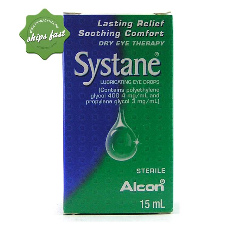 SYSTANE LUBRICATING EYE DROPS 15ML