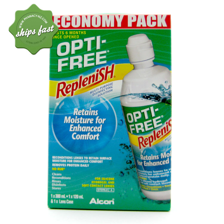 OPTI FREE REPLENISH ECONOMY PACK PLUS 120ml SOLUTION