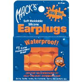 MACKS EARPLUGS WATERPROOF KIDS SIZE