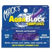 MACKS AQUABLOCK EARPLUGS