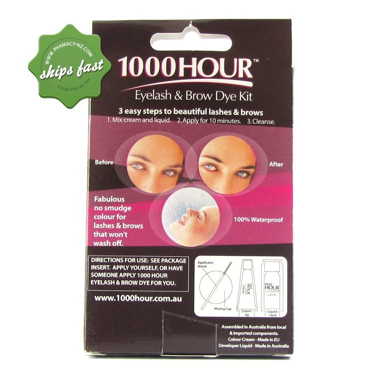 Buy 1000 Hour Eyelash And Brow Dye Dark Brown