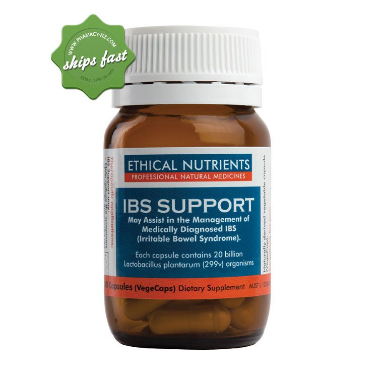 ETHICAL NUTRIENTS INNER HEALTH PLUS IBS SUPPORT 30 CAPSULES