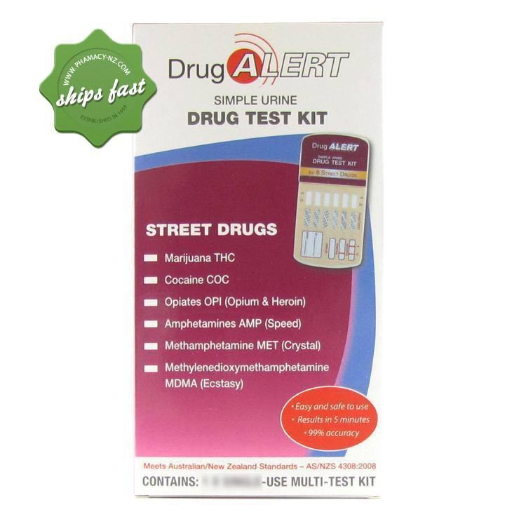 DRUG ALERT STREET DRUGS 5 PACK URINE TEST KIT