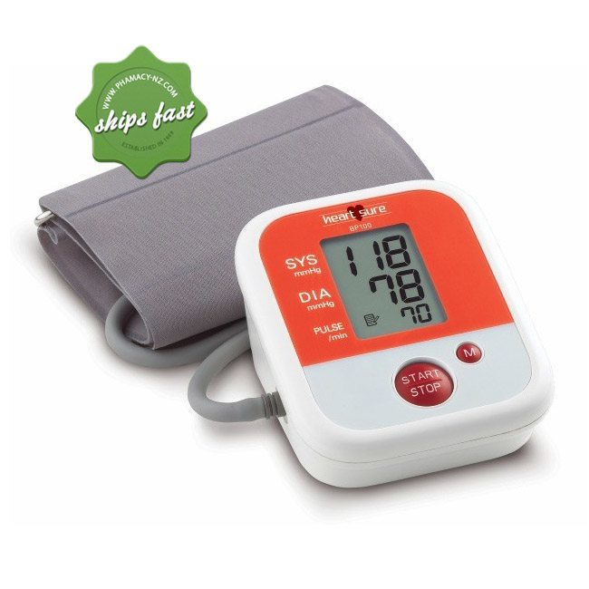 OMRON HEARTSURE AUTOMATIC BLOOD PRESSURE MONITOR SHIPS FAST- FREIGHT FREE -
