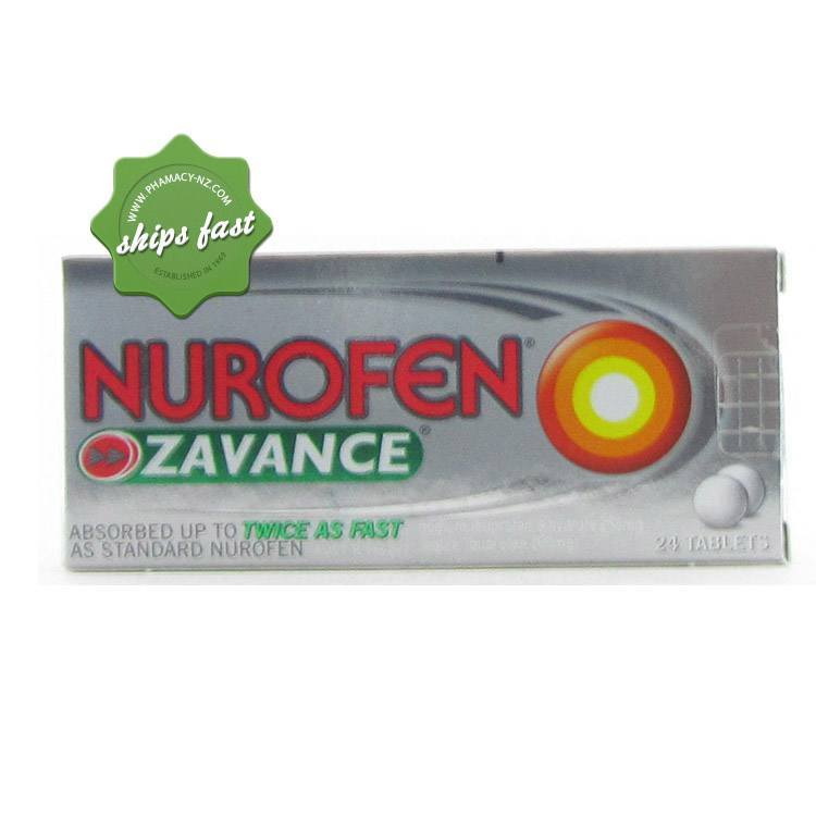 NUROFEN ZAVANCE TABLETS 24s